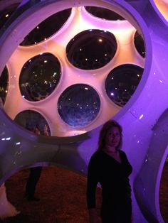 Bucky Fuller's Geodesic Dome, installed in the Miami Design District