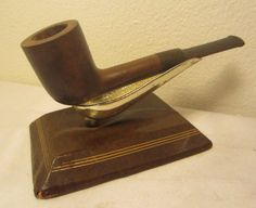 Vintage Royale Captain De Luxe Dublin Lovat Briar Estate Tobacco Pipe Unsmoked