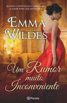 Livros e marcadores: Passatempo: Um Rumor Muito Inconveniente de Emma W...