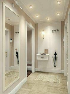 Hall de entrada - New Deko Sites Style At Home, Entry Hall, Hallway Decorating, Home Fashion, Interior Design Living Room, Design Interior, Interior And Exterior, Design Case, Sweet Home