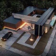 House designs exterior - 49 most popular modern dream house exterior design ideas 8 – House designs exterior Villa Design, Modern House Design, Residential Architecture, Contemporary Architecture, Interior Architecture, Houses Architecture, Amazing Architecture, Contemporary Design, Architecture Colleges