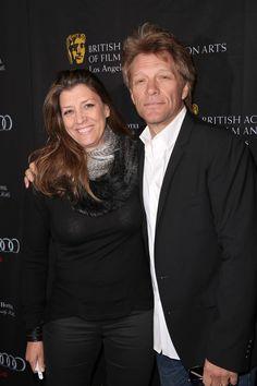 Jon Bon Jovi with wife of 24 years Dorothea