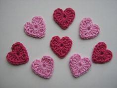 Сердечко крючком Crochet heart