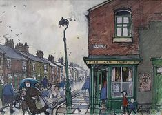 The Corner Chippy by Norman Cornish
