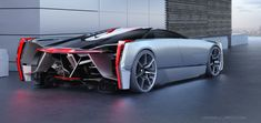 Cadillac Estill, a futuristic super car concept - http://sploid.gizmodo.com/if-darth-vader-had-a-car-it-would-be-this-cool-cadilla-1581884724/+jesusdiaz