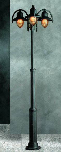 We love this Portia 3 Light Lamppost, £663.82. Find out more at: http://www.outdoor-lighting-centre.co.uk/portia-light-lamppost-p-293.html