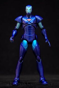 this is the Hasbro Marvel Legends Terrax Series Iron Man Extremis - Stealth Armor variant like his non variant counterpart he is a great addition to your hall of armor happy pinning