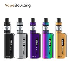 Smok OSUB 80W Baby Kit looks handsome. It comes with the great reputated baby tank and uses the best tested and popular coils. Compact size for pocket carring on the go, use the removable 18650 battery. Max 80 wallts is enough for more than 90% vaper. Big fire button is a lot of ease in use and battery door is easy and durable.