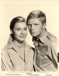 Hatari. Michèle Girardon & Hardy Kruger. I wanted Brandy and Kurt together so bad. But alas, she picked Pockets, played by Red Buttons