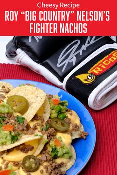 "Staying in giving you the BIG munchies? Check out Roy ""Big Country"" Nelson's Heavy-Hitting Fighter Nachos recipe and knock out those cravings. Nacho Cheese Sauce, Nacho Chips, Big Country, Cheesy Recipes, Nachos, Recipe Using, Cravings, Easy Meals, Appetizers"