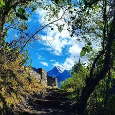 Inca trail, Inca Temple and snow-capped mountains in the background. .  .  .  Follow @perusummit  .  .  #travel #journey #trip #adventure #tour #voyage #photooftheday #instagood #instago #machupicchu #incatrail #instapic #igtravel #cuscoperu #southamerica #trek #choquequirao #hike #luxurytravel #tagsforlikes #followforfollow #vacation #tagstagram #yolo #wilderness #traveler #love #repost #picoftheday #nature