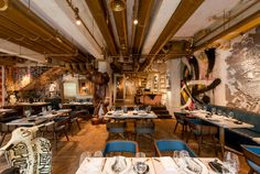 The Walls Of This Restaurant Are Filled With Street Art Bibo by Substance
