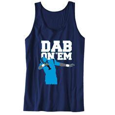 Dab On 'EM Cam Panthers Unisex Tanks Sports Clothing