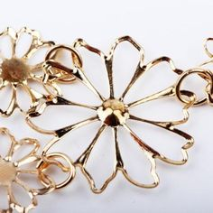Floral Life Statement Necklace
