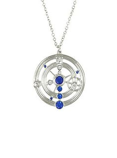 Doctor Who Gallifreyan Necklace,