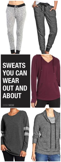 Great sweats that you can wear from the gym!