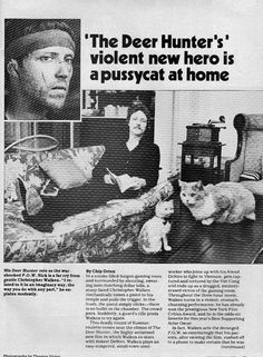 Christopher Walken in real life is a crazy cat man!