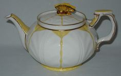 Very Rare Vintage 1920s AYNSLEY Figural BUTTERFLY TEAPOT