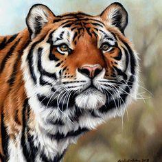 Sarah Stribbling, oil painting