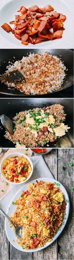 Bacon Fried Rice                                                                                                                                                      More