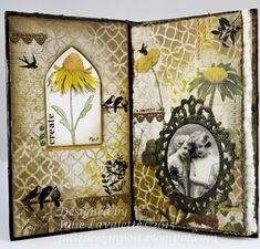 A Vintage Journey: Art Journalling With Tim by Julie