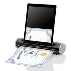 Scan all those documents using the technology you already have!  No need to buy a new scanner or similar product!