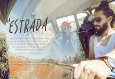 Editorial de Moda: Na Estrada | Revista Flash Vip