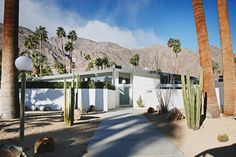 Mid-Century Ranch, Modern Xeriscaping Modern Ranch, Mid-century Modern, Mid Century Modern Landscaping, Mid Century Ranch, Xeriscaping, Cool Plants, Landscape, Architecture, Houses