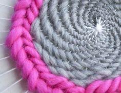 How to Finish a Circular Soumak