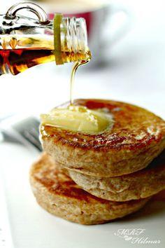 Whole wheat sourdough pancakes~ Panqueques integrales con masa madre http://misrecetasfavoritas2.blogspot.com/2012/04/panqueques-integrales-con-masa-madre.html