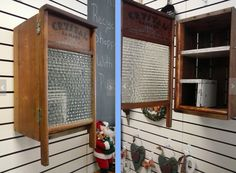 laundry scrub board cabinet door