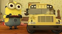 Wheels On The Bus - Minions Nursery Rhyme - YouTube