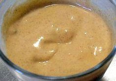 CREAMY JALAPEÑO SAUCE    1/4 cup mayonnaise    2 teaspoons canned sliced jalapeños, minced (nacho slices)    2 teaspoons juice from jalapeño can    3/4 teaspoon granular Splenda or equivalent liquid Splenda    1/2 teaspoon paprika    1/2 teaspoon cumin    1/8 teaspoon cayenne    1/8 teaspoon garlic powder    Dash salt, optional   Mix all of the ingredients and chill to allow flavors to develop. Serve over burgers or chicken, etc.   Makes about 1/4 cup    Do not freeze