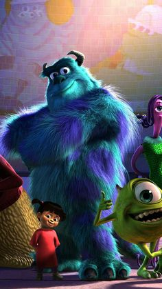 Sully Monsters Inc, Monsters Ink, Disney Monsters, Cartoon Monsters, Monsters Inc Movie, Disney Pixar Movies, Disney Cartoons, Arte Disney, Disney Art