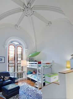 1850 Church converted to condo - incredible window & ceiling