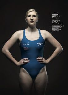 """Kate Peters """"Olympians"""" in L'EQUIPE"""