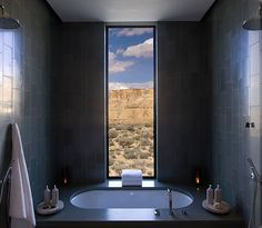 Amangiri Resort and Spa, Lake Powell, Utah Amangiri Hotel, Amangiri Utah, Amangiri Resort, Lake Powell, Hotels And Resorts, Best Hotels, Luxury Hotels, Amazing Hotels, Sunken Tub