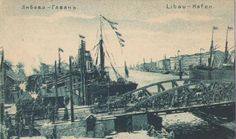 Libau. Hafen. 1915-1918.postcard