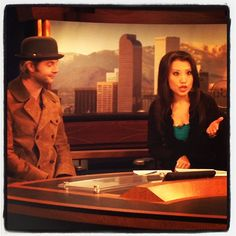 This morning on ABC 7 as you can see i was sleeping on the set. #keithharkin #denver