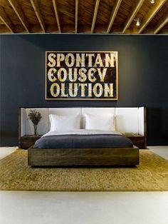 peroba wood bed vincent 2 / Environment Furniture