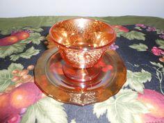 Set of 2 Federal Glass Marigold Sherbet Bowls by RememberingDiane, $18.00