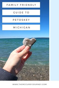 Petoskey is a beautiful lakeside community perfect for exploring families. Check out our family friendly guide to Petoskey, Michigan! #familytravel #michigan Ways To Travel, Best Places To Travel, Cool Places To Visit, Travel Ideas, Travel Tips, North America Destinations, Family Vacation Destinations, Travel Destinations, Petoskey Michigan