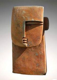 ☥ Figurative Ceramic Sculpture ☥ Peter Hayes | Large Ceramic Head