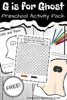 Free Ghost Preschool Theme Printable for Halloween Sequencing Cards, Sequencing Activities, Kids Learning Activities, Preschool Activities, Monster Activities, Teaching Ideas, Preschool Books, Free Preschool, Preschool Themes
