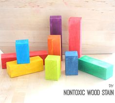 Picture of DIY Nontoxic Wood Stain
