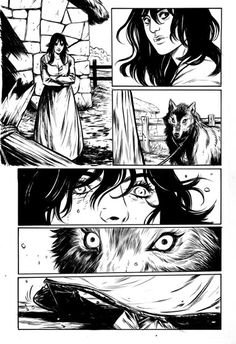 Wolves by Becky Cloonan