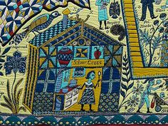 Grayson Perry's tapestries tell the story of class mobility