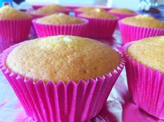 Cupcakes de Vainilla. Receta thermomix (cupcakesytartas.com)