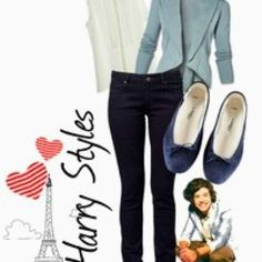 Harry Styles inspired outfit :)
