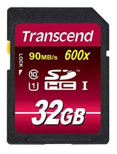 Tarjeta de memoria 32gb SDHC class 10 High Speed para cámara Canon EOS 750d